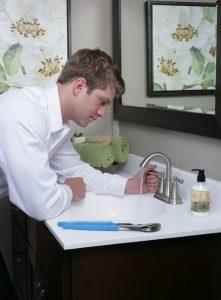 Faucet-plumbing-upgrade-mansfield-CT-plumber-bathroom