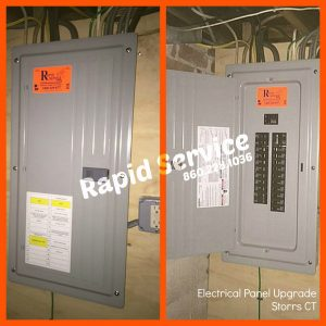 electrical panel upgrade storrs ct electrician