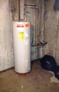 water heater, leak, leaky water heater, leaking water heater, anode rod, water heater inspection, leak