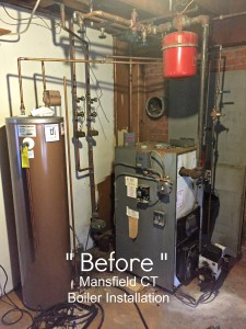 boiler issues in mansfield CT. Had to replace boiler, indirect water heater and expansion tank.