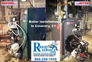 crown boiler installation coventry ct