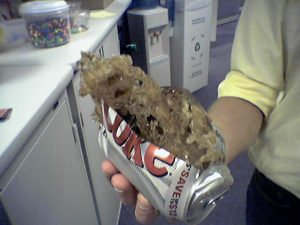 frozen-soda-can-burst-pipe-example-marlborough-ct-emergency-plumber