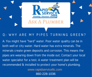 green-plumbing-pipes-faucets-corrosion-water-treatment-coventry-ct-plumber