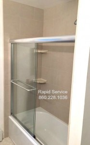 tub-shower-tile-faucet-glass-sliding-doors-drain-diverter-plumbing-installation-mansfield-ct